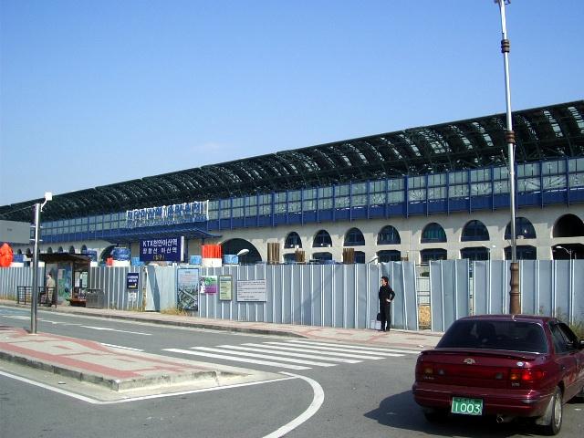 天安牙山駅(韓国): 世界の駅を巡...